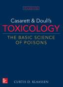 Casarett & Doull's Toxicology: The Basic Science of Poisons, Ninth Edition Pdf