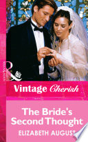 The Bride s Second Thought  Mills   Boon Vintage Cherish