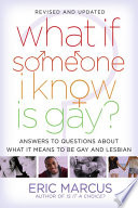 What If Someone I Know Is Gay  Book