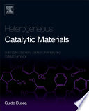 Heterogeneous Catalytic Materials Book