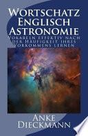 Wortschatz Englisch Astronomie