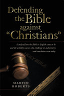 Defending the Bible against