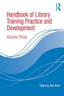 Handbook of Library Training Practice and Development [Pdf/ePub] eBook
