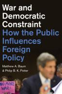 War and Democratic Constraint Book PDF