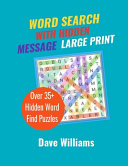 Word Search With Hidden Message Large Print