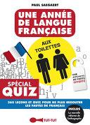 Une année de langue française aux toilettes