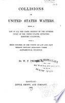 Collisions in United States Waters