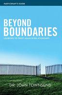 Pdf Beyond Boundaries Participant's Guide Telecharger