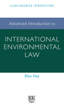 Advanced Introduction to International Environmental Law: