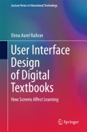 User Interface Design of Digital Textbooks Pdf/ePub eBook