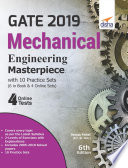 GATE 2019 Mechanical Engineering Masterpiece with 10 Practice Sets  6 in Book   4 Online  6th edition Book