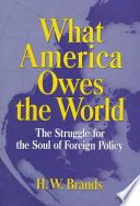 What America Owes The World Book