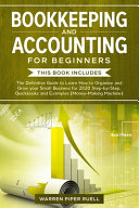 Bookkeeping and Accounting for Beginners
