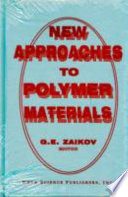 New Approaches To Polymer Materials Book PDF