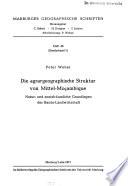 Marburger geographische Schriften