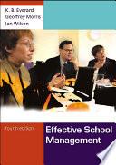 Effective School Management Book