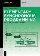 Elementary Synchronous Programming Pdf/ePub eBook
