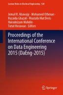 Proceedings of the International Conference on Data Engineering 2015  DaEng 2015