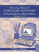 Winning Ways of Coaching Writing