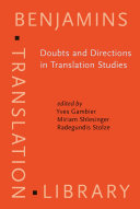 Pdf Doubts and Directions in Translation Studies Telecharger