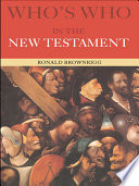 Who s Who in the New Testament