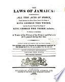 The Laws of Jamaica