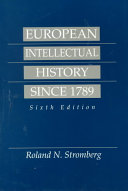 European Intellectual History Since 1789