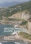 Geotechnical Slope Analysis Pdf/ePub eBook