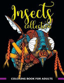 Insects Collection Coloring Book for Adults