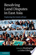 Resolving Land Disputes In East Asia