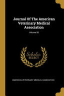 Journal Of The American Veterinary Medical Association Volume 58