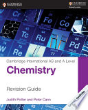 Books - Cambridge International As & A Level Chemistry Revision Guide | ISBN 9781107616653