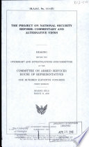 The Project on National Security Reform Book PDF