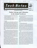 Timber Salvage and Utilization in the Inland Northwest