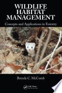 Wildlife Habitat Management