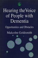 Hearing the Voice of People with Dementia