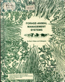 Forage animal Management Systems Book