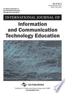 International Journal of Information and Communication Technology Education, Vol 8 ISS 3