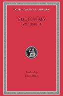 Suetonius  Lives of the Caesars  book V VIII   Lives of illustrious men