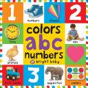 Big Board Books Colors, ABC, Numbers Pdf/ePub eBook