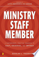 The Ministry Staff Member Book PDF