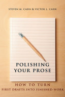 Polishing Your Prose Pdf/ePub eBook