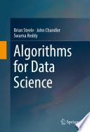 Algorithms for Data Science Book