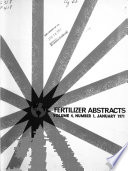 Fertilizer Abstracts