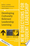 Developing Culturally Relevant Leadership Learning Book