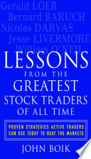 Lessons From The Greatest Stock Traders Of All Time Book PDF