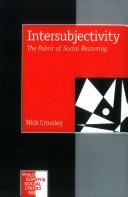 Intersubjectivity Pdf/ePub eBook
