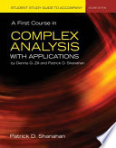 Free Student Study Guide to Accompany A First Course in Complex Analysis with Applications Read Online