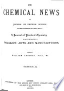 Chemical News And Journal Of Industrial Science Book PDF