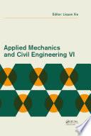 Applied Mechanics and Civil Engineering VI